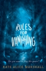 Rules for Vanishing - eBook