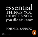 Essential Things You Didn't Know You Didn't Know Brain Shot - eAudiobook