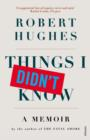 Things I Didn't Know - eBook