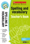 Spelling and Vocabulary Teacher's Book (Year 3) - Book