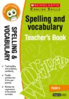 Spelling and Vocabulary Teacher's Book (Year 6) - Book