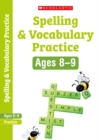 Spelling and Vocabulary Workbook (Year 4) - Book