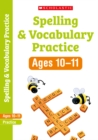 Spelling and Vocabulary Workbook (Year 6) - Book