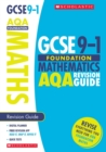 Maths Foundation Revision Guide for AQA - Book