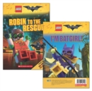The LEGO Batman Movie: Robin to the Rescue / I'm B    atgirl! - Book