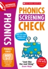 Practice for the Phonics Screening Check - Book