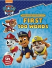 PAW Patrol: First 100 Words Sticker Book - Book