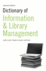 Dictionary of Information and Library Management - eBook