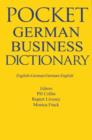 Pocket Business German Dictionary - eBook