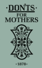 Don'ts for Mothers - Book
