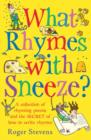 What Rhymes With Sneeze? - Book