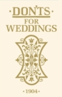 Don'ts for Weddings - Book
