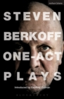 Steven Berkoff: One Act Plays - eBook