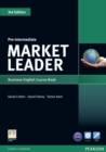 Market Leader 3rd Edition Pre-Intermediate Coursebook & DVD-Rom Pack - Book