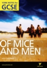 Of Mice and Men: York Notes for GCSE (Grades A*-G) - Book