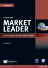 Market Leader 3rd Edition Intermediate Teacher's Resource Book/Test Master CD-Rom Pack - Book