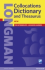Longman Collocations Dictionary and Thesaurus Paper with online - Book