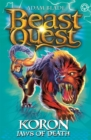 Beast Quest: Koron, Jaws of Death : Series 8 Book 2 - Book