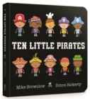 Ten Little Pirates Board Book - Book