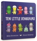 Ten Little Dinosaurs Board Book - Book
