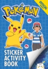The Official Pokemon Sticker Activity Book - Book
