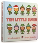 Ten Little Elves Board Book - Book