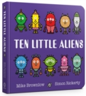 Ten Little Aliens Board Book - Book