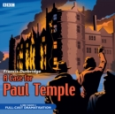 A Case for Paul Temple - Book