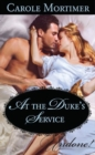 At the Duke's Service - eBook