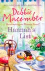 Hannah's List (A Blossom Street Novel, Book 7) - eBook