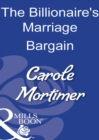 The Billionaire's Marriage Bargain - eBook