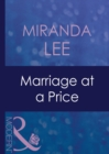 Marriage At A Price (Mills & Boon Modern) (The Australians, Book 8) - eBook