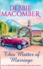 This Matter Of Marriage (Mills & Boon M&B) - eBook