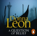 A Question of Belief : (Brunetti 19) - eAudiobook