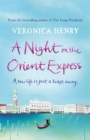 A Night on the Orient Express - Book