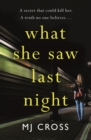 What She Saw Last Night - eBook