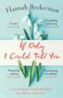If Only I Could Tell You : The hopeful, heartbreaking story of family secrets you need to read in 2019 - eBook