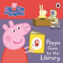 Peppa Pig: Peppa Goes to the Library: My First Storybook - Book