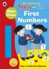 Start School with Topsy and Tim: Wipe Clean First Numbers - Book