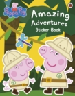 Peppa Pig: Amazing Adventures Sticker Book - Book