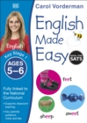 English Made Easy, Ages 5-6 (Key Stage 1) : Supports the National Curriculum, English Exercise Book - Book