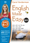 English Made Easy, Ages 6-7 (Key Stage 1) : Supports the National Curriculum, Preschool and Primary Exercise Book - Book