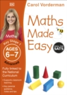 Maths Made Easy: Advanced, Ages 6-7 (Key Stage 1) : Supports the National Curriculum, Maths Exercise Book - Book