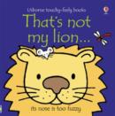 That's Not My Lion - Book