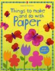 Things to Make and Do with Paper - Book