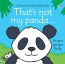 That's Not My Panda - Book