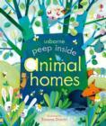 Peep Inside Animal Homes - Book