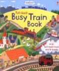Pull-Back Busy Train - Book