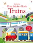 First Sticker Book Trains - Book