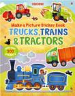 Trains, Trucks and Tractors - Book